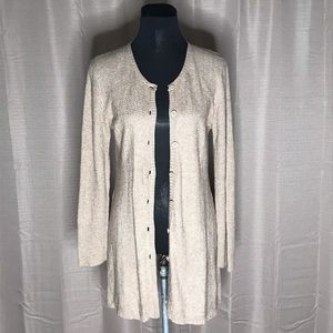 ANTHROPOLOGIE COUSIN JOHNNY SOFT CARDIGAN L #125